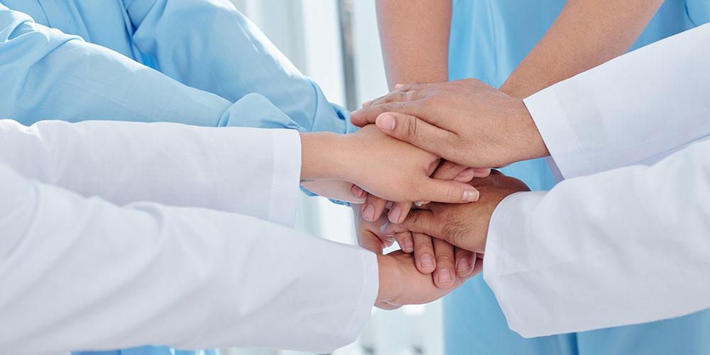 Cohésion d'équipe médicale