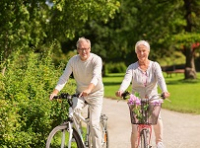 personne âgée en bonne santé