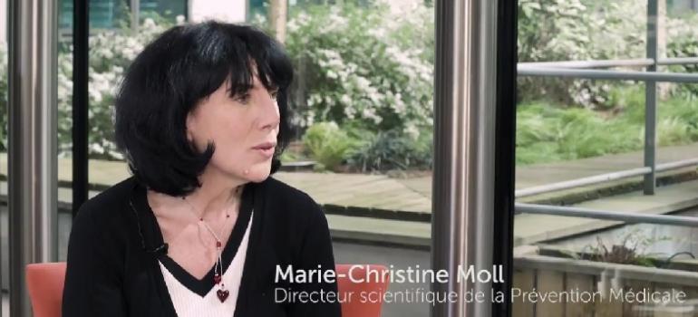 ITW du Dr M-C Moll, Directeur scientifique de la Prévention Médicale